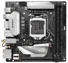 Asus Rog Strix Z370-i Gaming placa base negro Strix-z370-i-gm