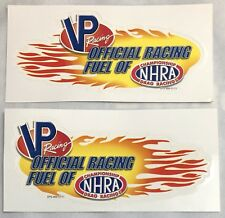 2 Official NHRA VP Fuel Left Right Side Drag Racing Sticker Decal