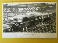 POSTCARD INTERCITY DIESEL MULTIPLE UNIT