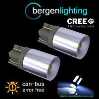 2X W5W T10 501 CANBUS ERROR FREE XENON WHITE CREE LED SIDELIGHT BULBS SL102405
