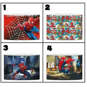 """SPIDERMAN b Ceiling Light Shade Lampshade 8""""/20cm in 4 DESIGNS FREE POST"""