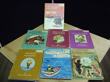 Lot of 7 childrens books from Dandelion Library  1950's & 1960's