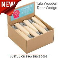 Tala Utility Traditional Beech Wooden Door Stay Stop Stopper Wedge│1 To 24 Pack