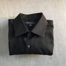 Banana Republic Black Non Iron Slim Fit Button Up Dress Shirt Men's Size 15-15.5