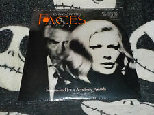 Faces NEW SEALED Pioneer SE Widescreen Laserdisc LD John Cassavetes Free Ship$30