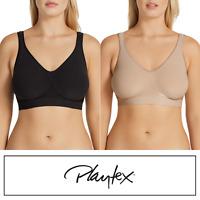 PLAYTEX Comfort Revolution Non Contour Wirefree Bra - Black / Nude