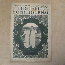 Vintage September 1900 The Ladies' Home Journal Magazine Albert Lynch Victorian