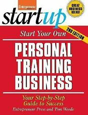 Start Your Own Personal Training Business, Entrepreneur Press, New Book