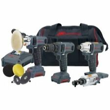 Ingersoll Rand Iqv12-401 4 Piece Iqv12v Cordless Combo Kit