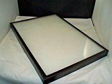 "one jewelry display case Riker Mount display box collectors 14 X 20 X 1 1/4"""