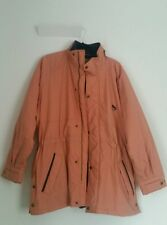 Ladies Jacket Woman Size Medium Warm Padded Zip Up Coat Long Sleeve Saddlecraft