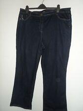 "Yours ladies blue jeans size 26 waist size 46"""