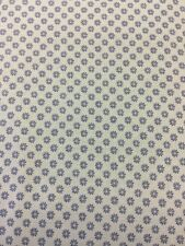 Liberty of London Floral Dot Fabric In Blue By Half Meter