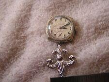 Watch 15 Jewels Vintage Tavannes Pendant