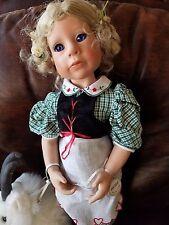 "JULIE GOOD-KRUGER 21"" Doll Heidi Vinyl and Mountain Goat Gruff"