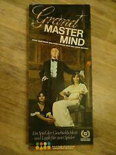 Grand Master Mind Logikspiel für zwei Spieler komplettes Spiel Superhirn Logik