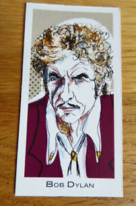 BOB DYLAN CARD #3 LEGENDS OF ROCK BY GOOD TIMES CREATIONS