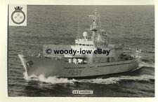 na1542 - Royal Navy Warship -  HMS Guernsey - photograph
