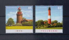BRD MiNr. 3089-3090 Postfrisch , Leuchttürme Buk + Pellworm !  (S-388d )