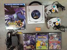 Nintendo Gamecube Pokemon XD Limited Edition Platinum Colosseum channel lot