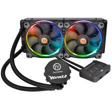 ThermalTake Water 3.0 RGB, 2 x 120m Fans, 240mm Water Cooling System + Radiator