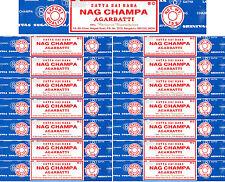 15 Boxes 15gm Each Nag Champa Incense Satya Sai Baba 2017 Series 225 Grams Total