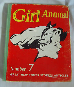 Good Condition - Girl Annual Number 7 (1959) Edited by Marcus Morris