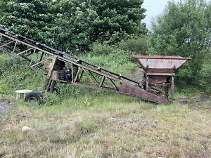 Soil Screener Conveyor,, Stocking Conveyor Diesel Engine