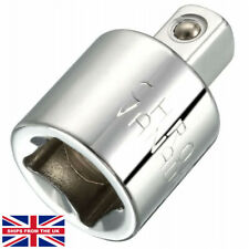 3/8 Inch Drive (F) x 1/4 Inch (M) Socket Reducer, Female to Male, Cr-V. SIZE -