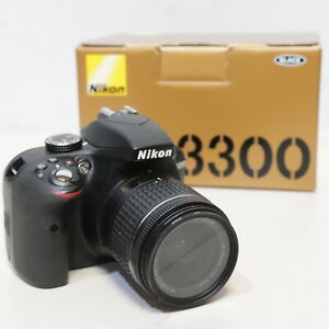 Nikon D3300 DSLR Digital Camera 24.2MP, 18-55mm Lens BOXED - 232