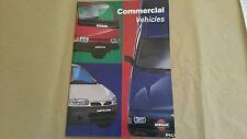 Nissan Vanette Cargo / Pick up / Cabstar Sales brochure 1996 SUPERB CONDITION