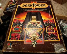 DARK TOWER WORKING Tower Board Game tested MB 100% Complete game pieces 1