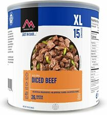 1 - # 10 Can - Diced Beef - Mountain House Freeze Dried Emergency Food Supply
