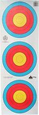 10 Stück Zielscheiben Auflagen Fita  3er Spot   mit Nylonfäden verstärkt