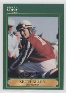 1991 Horse Star Jockey Cards Keith Allen #31