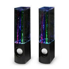 Dancing Water Mini Music Speaker, LED Speakers for Iphone, Ipad,Samsung,Devices