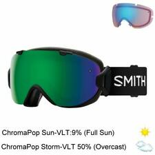 Smith Optics I/O Goggles (Black / ChromaPop SunGreen Mirror)