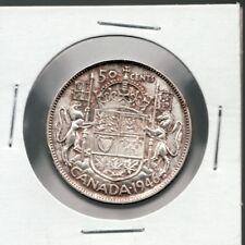 1946 Canada 50 Cent. A very fine + silver coin