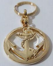Porte-Clés type insigne de béret TDM T.D.M Troupes de Marine Nationale Française
