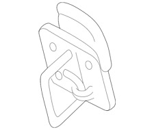 Genuine Volkswagen Safety Catch 5G0-823-186-B