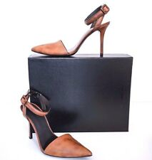 Alexander Wang Lovisa  Brown Leather Slingbacks EU37 US 7 Pumps Heels
