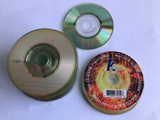 35 Recordable Mini CD-R 21min 185mb 8cm CDR CD Blank - Bulk without cases