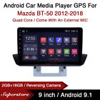 9  Android 10.1 Car Stereo Media Player GPS Head Unit For Mazda BT-50 2012-2018