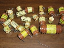 SHALLCROSS MFG CO, COLLINGDALE, PA -  CAPACITORS - 24 VARIOUS SIZES - NEVER USED