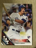 2016 Topps Batting Corey Seager ROOKIE RC #85 MVP