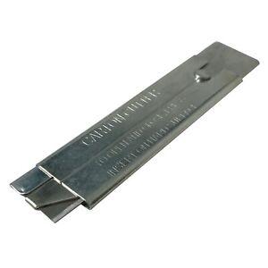 "4"" Straight Heavy Duty Single Edge Razor Blade Tool Utility Box Cutter Knife"