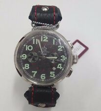 RUSSIAN WATCH MOSCOW CLASSIC SHTURMOVIK CHRONOGRAPH 3133 01511056S US