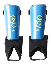 adidas Performance F50 Youth Shin Guards Solar Blue/Semi Solar Yellow, Small New