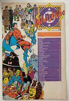 WHO'S WHO DC English / 6.0 FINE + / 1986