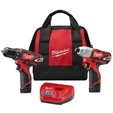 Milwaukee 2494-22 M12™ Cordless LITHIUM-ION 2-Tool Combo Kit